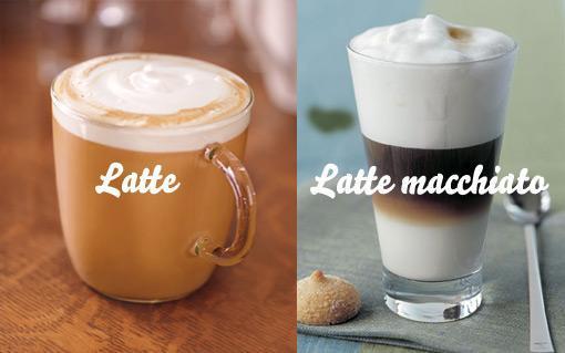 разница между латте макиато и обычным латте