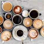 Сравнение кофе. Латте, капучино, эспрессо, американо, мокка