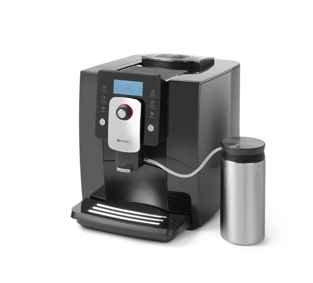 Кофемашины с полуавтоматическим капучинатором