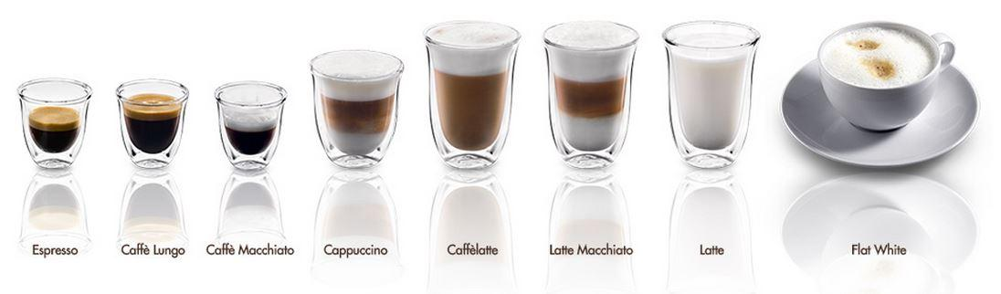 напитки на основе эспрессо