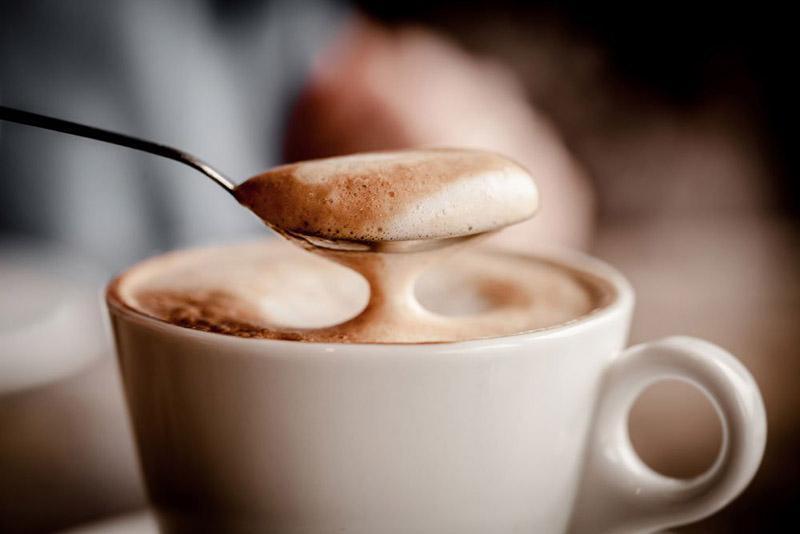 сбить пенку в кофемашине