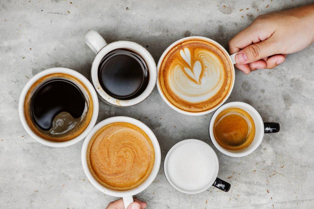 Кофе американо и эспрессо, латте, лунго. Отличия.