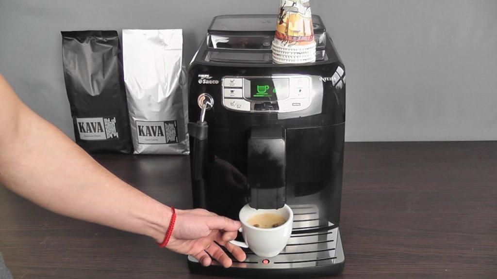 американо в кофемашине