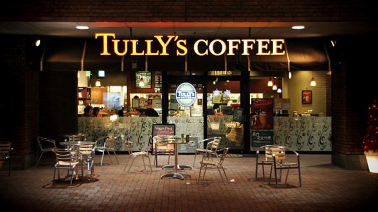 Tully's Coffee это популярная кофейня в Японии