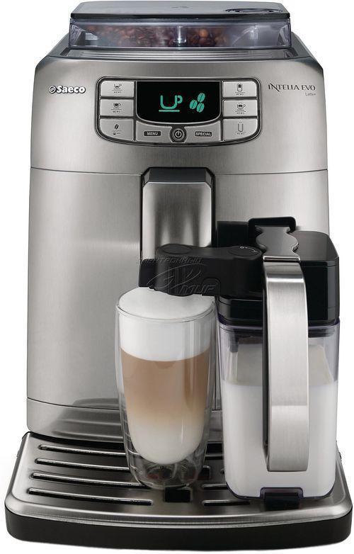 рецепт латте в кофемашине