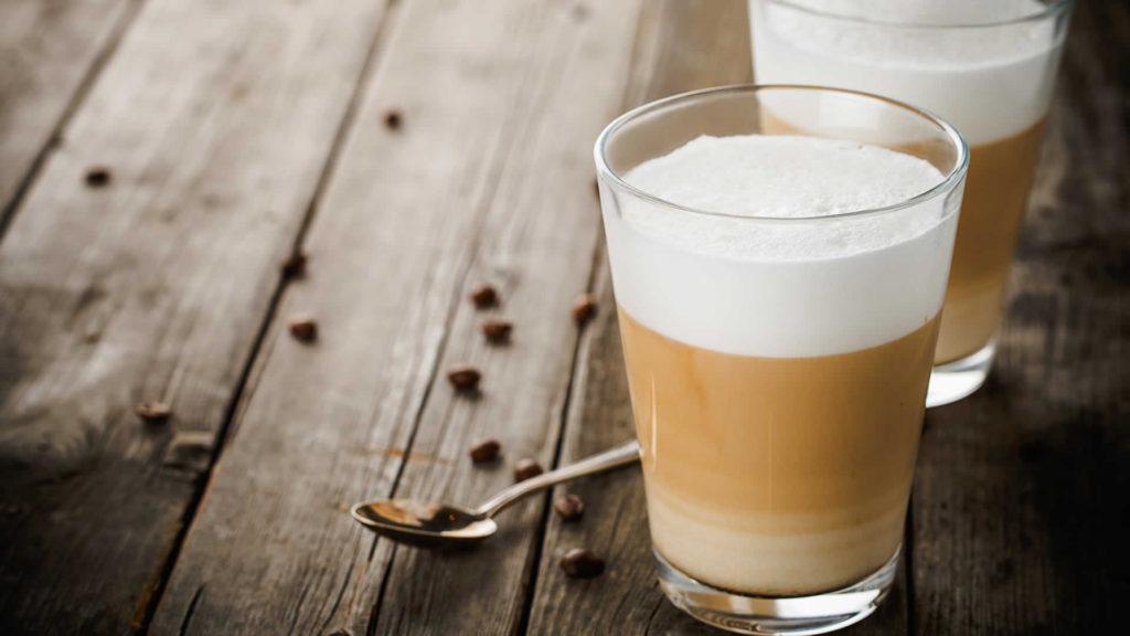 как сделать латте в кофеварки