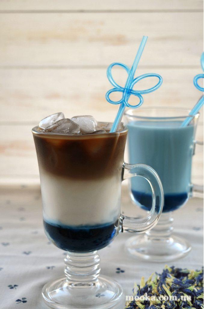 Латте с сиропом. Рецепт вкусного кофе.