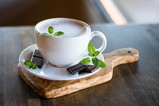 кофе и мята