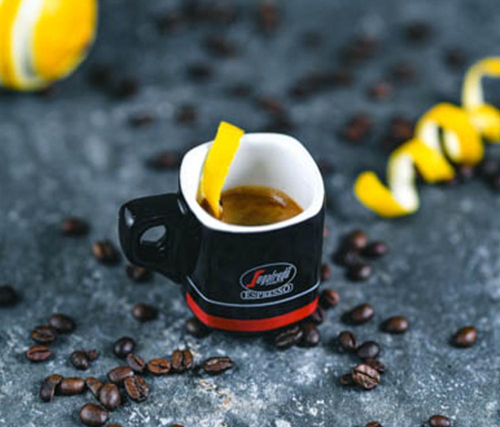 кофе с лимоном романо