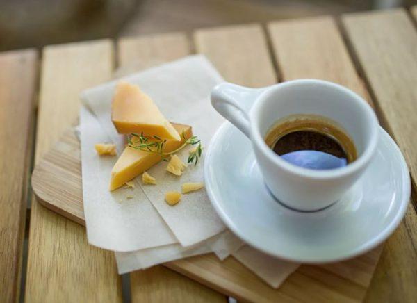 как приготовить сырный кофе