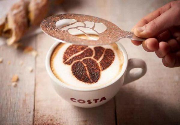 как рисовать на кофе в домашних условиях
