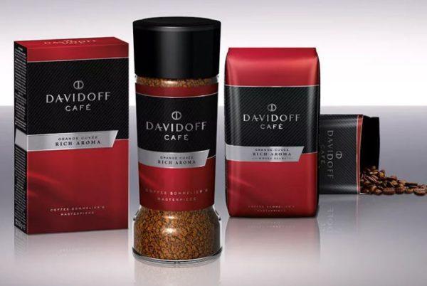 davidoff кофе молотый