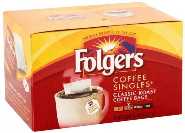 folgers кофе