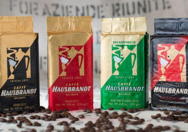 кофе hausbrandt в зернах