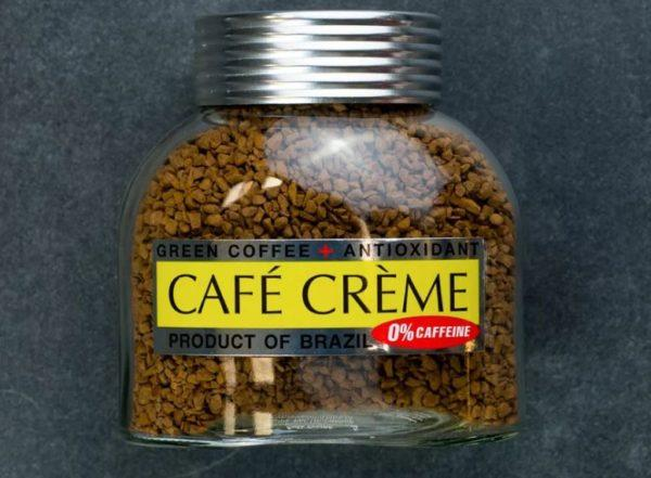 кофе растворимый cafe creme