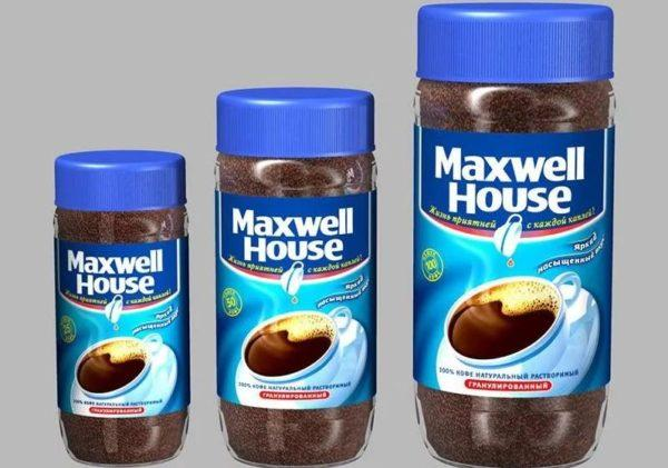 maxwell house кофе