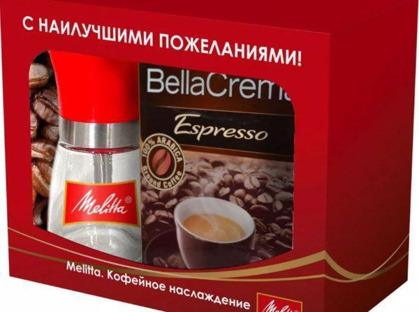 кофе в зернах мелитта