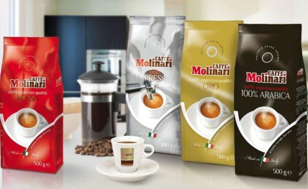 кофе molinari в зернах