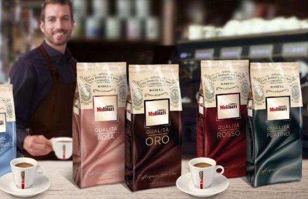 кофе в зернах молинари