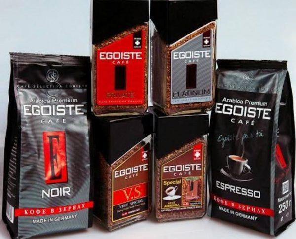 egoiste кофе
