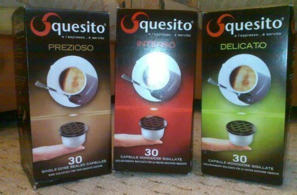 кофе в капсулах squesito