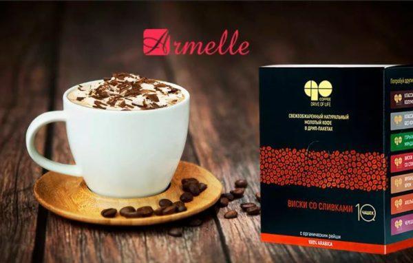 Растворимый кофе Армель и гриб рейши для укрепления иммунитета