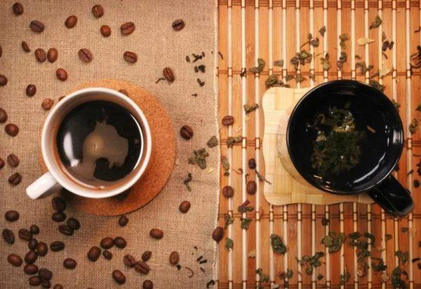 Необычный напиток из Азии - кофе с чаем