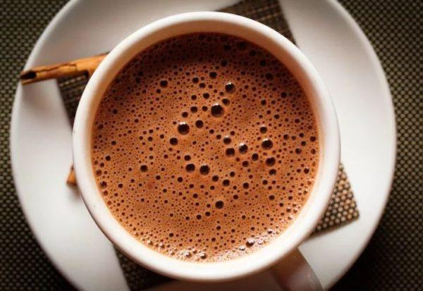 Мягкий напиток кофе с какао