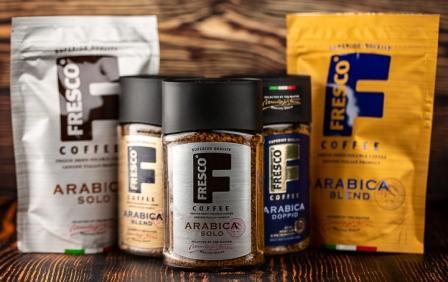 Американский бренд кофе Fresco