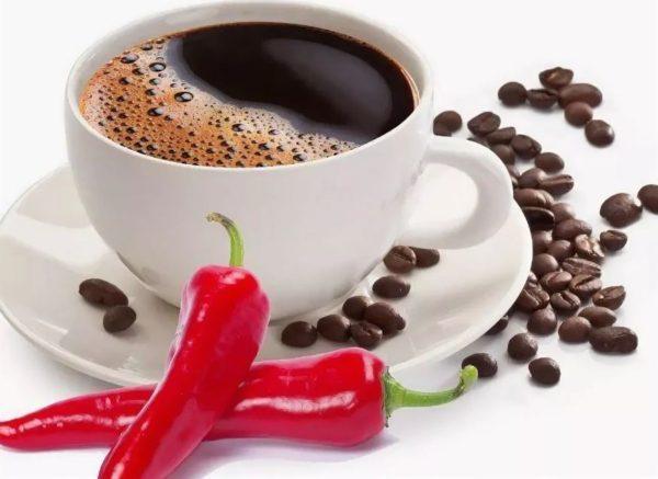 кофе с перцем пьют