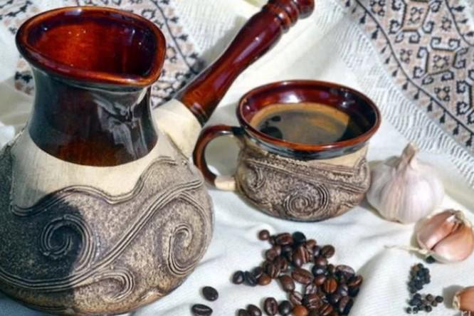 Нестандартный вкус - кофе с чесноком